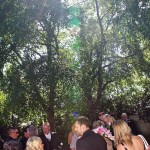 Photograph outside after the ceremony